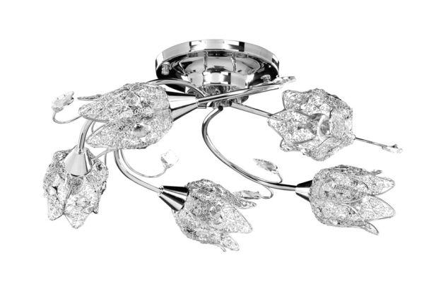 Koronkowa seria – lampy o kształcie kwiatowych kielichów