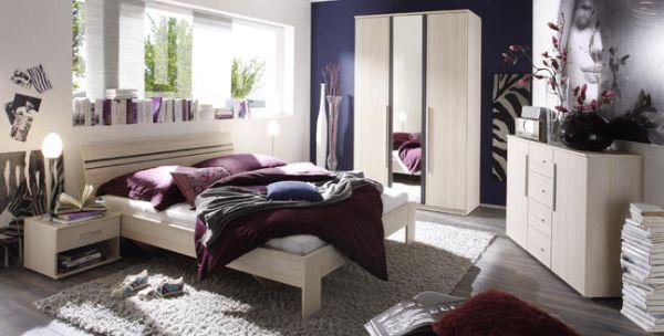 Elegancki zestaw mebli do sypialni
