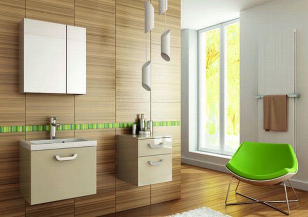 Drewno w łazience – niczym w fińskiej łaźni