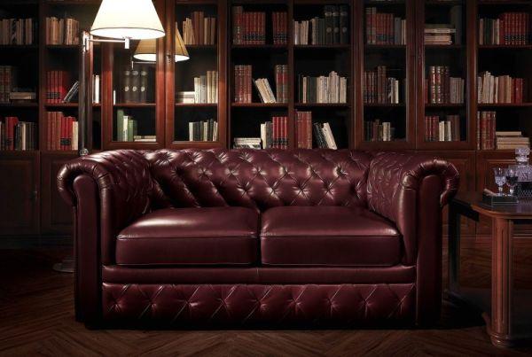 Pikowane sofy – idealne do domego gabinetu