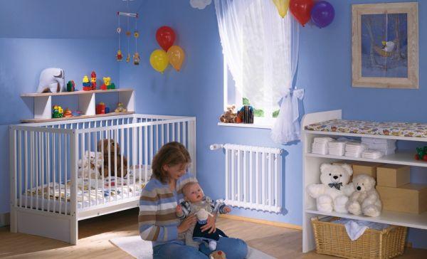 Idealny grzejnik w dziecięcym pokoju