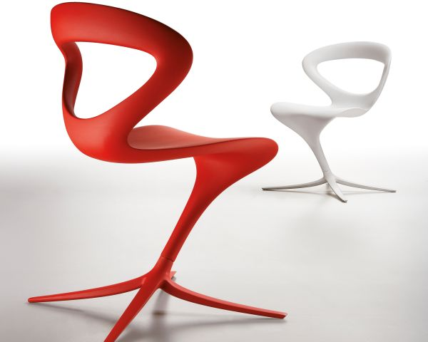 Nowoczesne meble: designerskie krzesło poza grawitacją