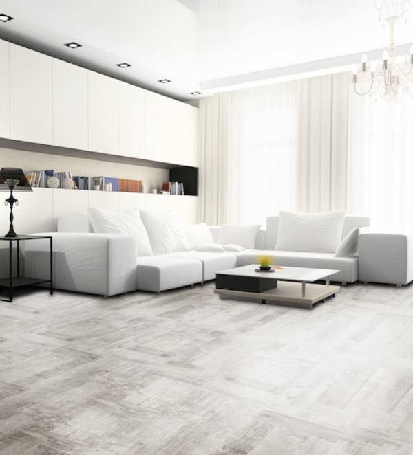 Jasne podłogi – modne i praktyczne