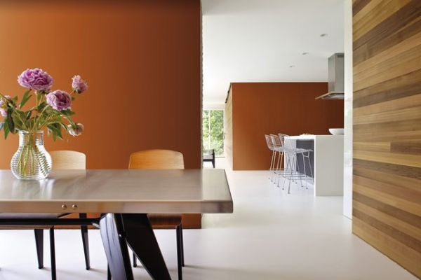Naturalne mieszkanie: kolory ziemi we wnętrzu