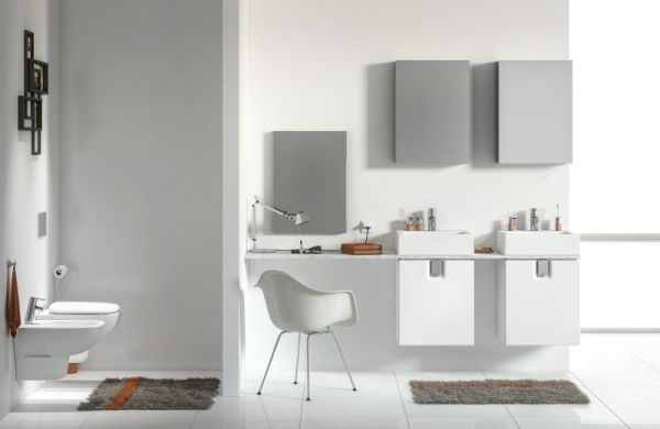 Dobry design i porządek w łazience