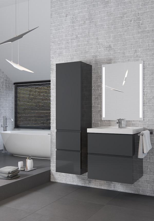 Trzy nowe kolekcje mebli łazienkowych